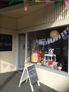 Happy and Glorious! Craft Country's Jubilee window display!