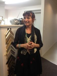 Local artist and film maker, Tania Williams