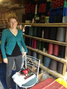 Michelle Sandford, creator of beautiful bespoke rugs and carpets