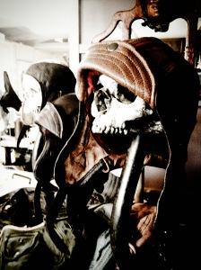 Helmets and skulls