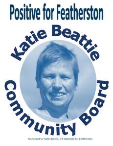 Katie Beattie - Positive for Featherston