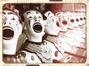 Exhibit One: Bunch of Evil Clowns