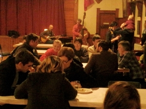 Some members of the Featherston community thinking big for their town, 17th July 2014